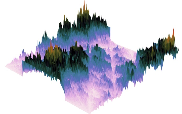 Diffraction Mountains